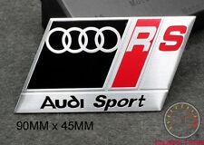AUDI SPORT RS BADGE EMBLEM A3 bk A4 S3 S4 S LINE TT QUATTRO A1 R8 RS DTM RS3 RS4