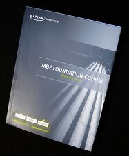 Kaplan PMBR Bar Review MBE Foundation Course Workbook + Federal Civil Procedure