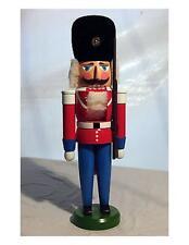"""Brand New in Box Vintage Erzgebirge Nutcracker Soldier Red Dane 15"""""""