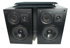KLH 900B Stereo Speakers 3 Way Bookshelf Speakers Large Size Great Sound!