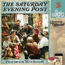 The Saturday Evening Post Norman Rockwell Homecoming Marine 1000 Piece Puzzle