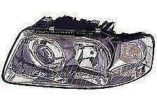 Audi A3 Headlight Unit Passenger's Side Headlamp Unit 2001-2003