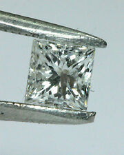 BJC® 0.33ct Loose Square Princess Cut Natural Diamond F I1 3.60mm Diameter