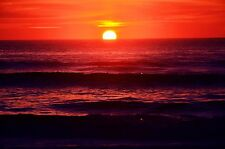 'Sunrise on the Banks' 8 by 10 Color Picture of An Outer Banks Beach Sunrise