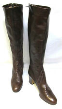 sz 37/ 6.5 NATALE FERRARIO vintage Italian handmade top quality leather boots EC
