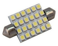 1x 42mm Festoon LED Bulb 24 SMD3528 Cool White for Boat Sailboat Yacht Interior