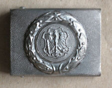 GERMAN ALUMINIUM BELT BUCKLE / PROVINCE OF EAST PRUSSIA / PROVINZ OSTPREUSSEN