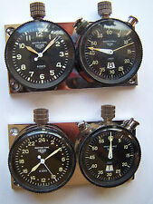 1960'S HEUER RALLYMASTER MONTE CARLO MASTERTIME TIMER STOPWATCH WORKS RALLY CAR