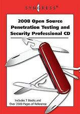 NEW - 2008 Open Source Penetration Testing and Security Professional CD