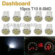 10x White T10 W5W Instrument Panel Cluster led Light Bulb Dashboard For BMW