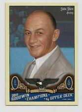 2011 Upper Deck Goodwin Champions Card #177 Eddie Shore (Hockey) (NM)