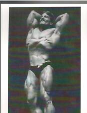 MIKE MENTZER 1976 Mr America Bodybuilding Muscle Photo B+W