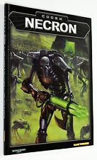 WARHAMMER 40000 40K NECRON CODEX ARMY LIST MANUALE ITALIANO 2002