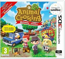 Animal Crossing: New Leaf - Welcome Amiibo! and Amiibo Card (Nintendo 3DS)