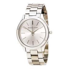 Michael Kors MK3178 Women's Runway Silver Dial Stainless Steel Quartz Watch
