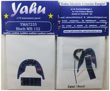 Yahu Models YMA7235 1/72 PE Marcel-Bloch MB.152 Instrument Panel