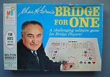 Vintage Milton Bradley  Bridge For One game #4753