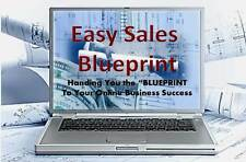 Easy Sales Blueprint To Your Online Business-  416 Page eBook and 12 Video on CD