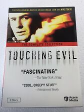 Touching Evil: The Complete Collection British Crime Drama DVD 2010, 5-Disc Set