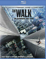 THE WALK BLUE-RAY + DIGITAL HD DVD JG LEVITT ZEMECKIS USED ONCE