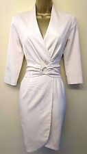 Reiss Lorna 8 Immaculate Celebrity Wedding Races Business Formal Wrap Dress