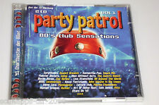 PARTY PATROL VOL.1 / 2 CD'S MIT IRENA CARA - JAN HAMMER - BALTIMORA - ALPHAVILLE