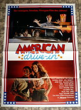 AMERICAN DRIVE-IN * A1-Filmposter -German 1-Sheet 1984