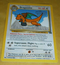 POKEMON BLACK STAR PROMO CARD - #5 DRAGONITE (WB MOVIE)