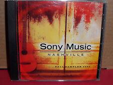 Sony Music Nashville Fall Sampler 2002 PROMO CD Brad MArtin LITTLE BIG TOWN