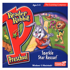 Learning PC games for kids,Reader Rabbit Preschool,learn Counting,letters,colors