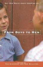 From Boys to Men: Gay Men Write About Growing Up-ExLibrary