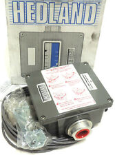 "NIB HEDLAND H701A-030-MR FLOW METER 3/4"" NPT OIL 30GPM, MR FLOW TRANSMITTER"