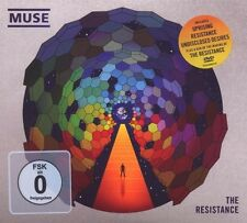"MUSE ""THE RESISTANCE"" CD+DVD LIMITED DIGIPACK NEW"