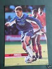 MIKAEL FORSSELL - CHELSEA  PLAYER - 1 PAGE PICTURE - CLIPPING /CUTTING