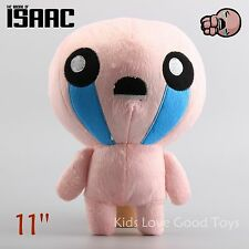 The Binding of Isaac Soft Plush Toy Doll ISSAC Game Collection Gift 11'' Teddy