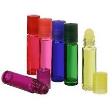 1/3 oz. Glass Perfume Oil Roll-On Bottles - (6 Roll-On Bottles) Multi You Choose