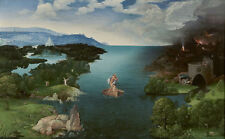 """Wholesale lots oil Joachim Patinir Landscape with Charon Crossing the Styx 36"""""""