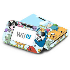 Adventure Time for Nintendo Wii U Console & GamePad Skin Vinyl Decal Cover