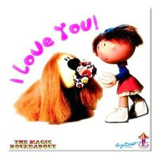 Magic R'bout (Florence & Dougal) fridge magnet (ro) REDUCED TO CLEAR----------