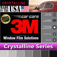 "3M Crystalline 40% VLT Automotive Car Truck Window Tint Film Roll 30""x120"" CR40"