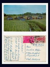 SOUTHEAST ASIA VIETNAM ARMY TANKS IN RICE PADDY TO GERMANY 2 DECEMBER 1966