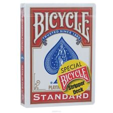 RED BICYCLE STRIPPER DECK GAFF TAPERED PLAYING CARDS CONTROL - MAGIC CARD TRICKS