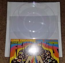 "Flaming Lips Good Vibrations 8"" multi sided record Piaptk Lathe OOP Wayne Coyne"