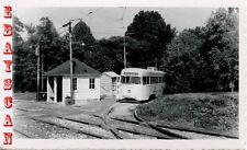 6H930 RP 1954 BALTIMORE TRANSIT STREETCAR #7363 ROLLING ROAD MD