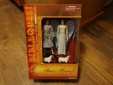 BIBLE QUEST--ANGEL & SHEPHERD FIGURE SET (NEW)