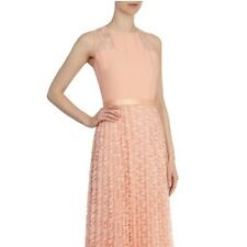 Bnwt*Coast*Size 6 Watermelon/Soft Peach Poesy Lace Maxi Dress Wedding Bridesmaid