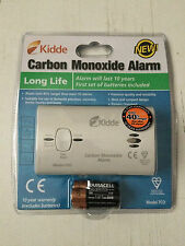 Kidde Carbon Monoxide Alarm Long Life, Batteries Included, New and Sealed