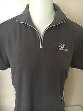 BOMBARDIER RACING EMBROIDERED SHORT SLEEVE SHIRT WOMENS MED NEW!