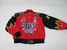 CHASE AUTHENTIC by JH DESIGN JEFF GORDON DU PONT JACKET SIZE BOYS L
