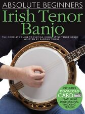 Absolute Beginners Irish Tenor Banjo Learn to Play EASY Lesson Tutor MUSIC BOOK
